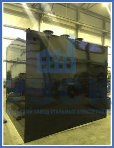 Бак по серии 5.904-43 А16В 101.000-08 для воды в Байконуре