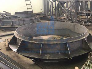 Клапан типа ПГВУ по чертежу заказчика в Степногорске