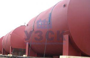 Горизонтальный резервуар РГС для ГСМ в Шымкенте