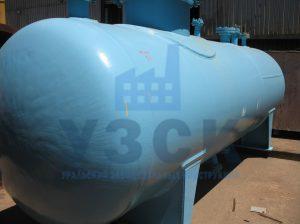 Резервуар РГС, емкость для газового конденсата с сферическими днищами в Степногорске