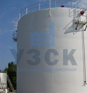 Резервуар вертикальный стальной 10000 кубов в Шымкенте