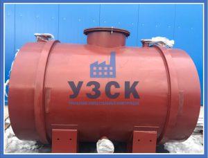 Резервуар для воды и спирта в Байконуре