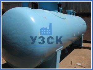 Резервуар РГС в Байконуре
