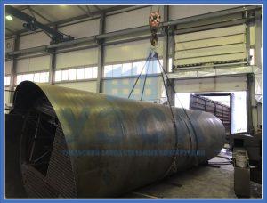 Резервуар РВС стальной в Байконуре