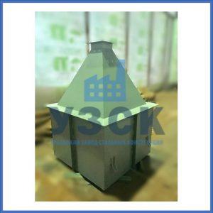 Купить бункер пирамидальный к циклонам ЦН в Степногорске